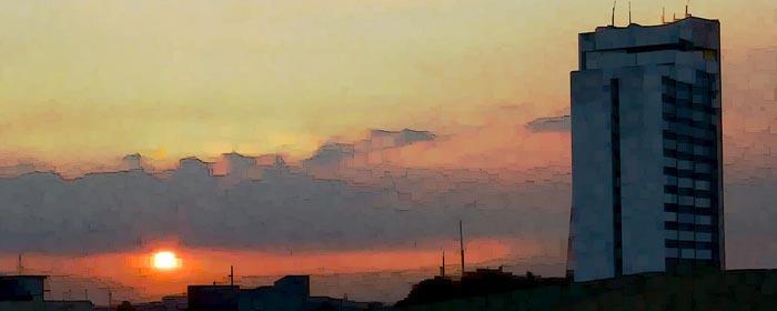 Manila Sunset (The Skyline Series) by Henry Bateman