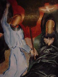 Annunciation by Gustavo López-Cobo