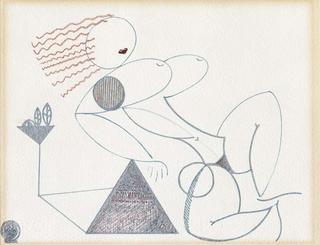 Woman Sunbathing by Jorge Polo
