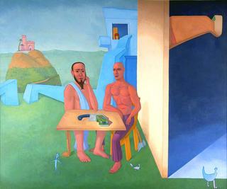 Two Philosophers by Pablo Salinas