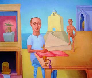 The Writer II by Pablo Salinas