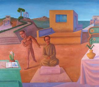 Baco y Ariadna by Pablo Salinas