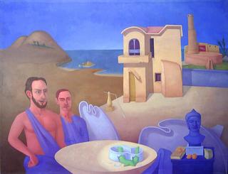 Budha's Dialogue by Pablo Salinas
