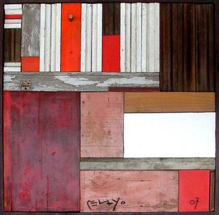 Wood in Red II by José María Pelayo