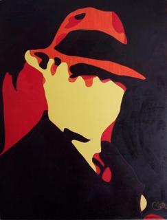 Homage to Carlos Gardel 2 by Rosario de Mattos