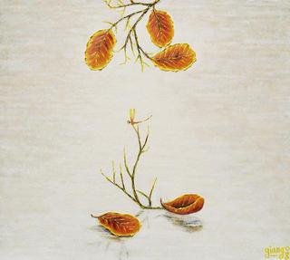 Leaves 9. Sleeping Dragonfly 1 by Pham Kien Giang