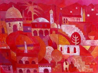 Moorish Theme 1 by Rana Jennifer Rodger