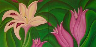 Gladiolus Carneus by Marinella Owens