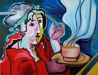 Oriental Lunch by Raúl Cañestro