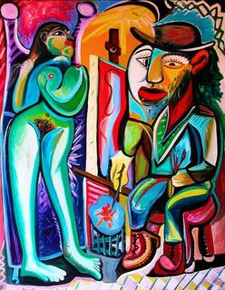 The Painter and the Model by Raúl Cañestro