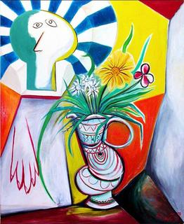 Vase in the Window by Raúl Cañestro