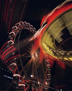 Night Big Wheel by Jorge Polo