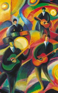 The Beatles by Guillermo Martí Ceballos