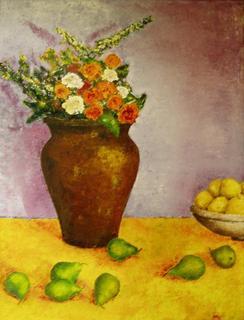 Pears Still Life by Jaime Pérez Magariños
