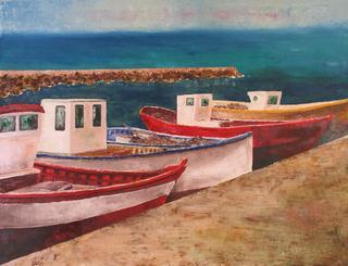 Fishing Boat 2 by Jaime Pérez Magariños