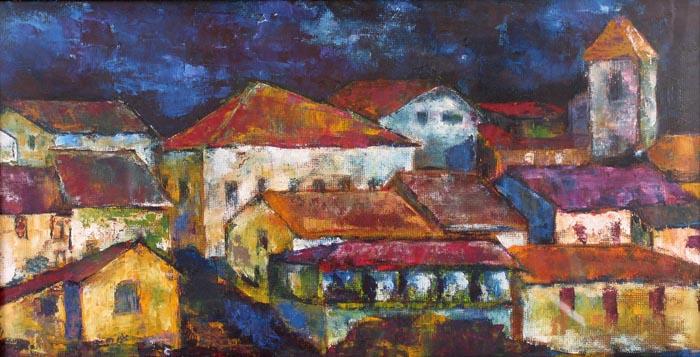 Village 1 by Jaime Pérez Magariños