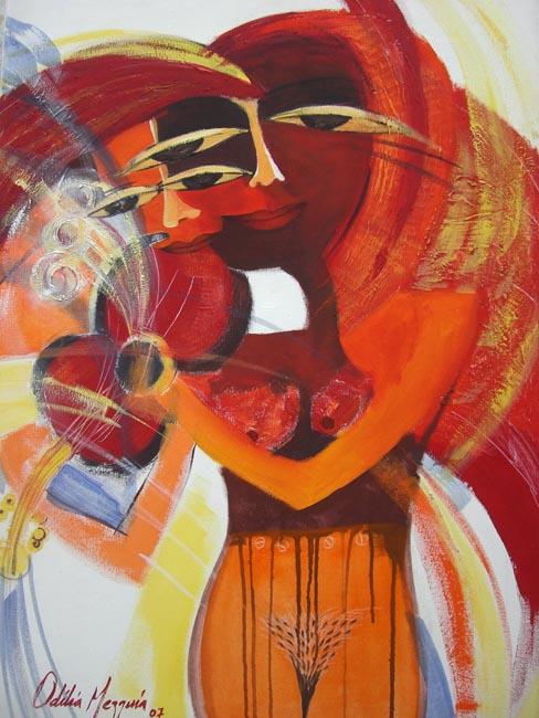 String Flight by Odilia Mezquía