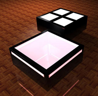 Black Table by Robert Schlegel