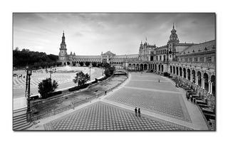 Plaza de España, Sevilla by Alberto Perez Veiga