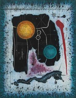 Planetary Abstract by Thomas O Donohue