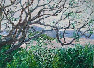 Wild Landscape by Moti Lorber