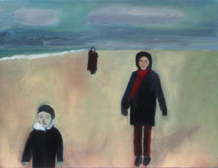 Three Figures by Jan Neale