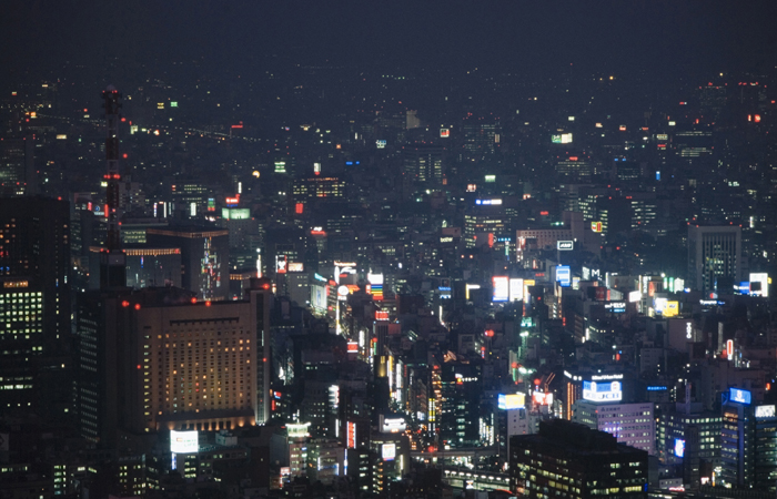 Tokio at Night by Jaume Capella