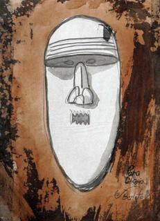 Mask Series 1 by Jorge Berlato