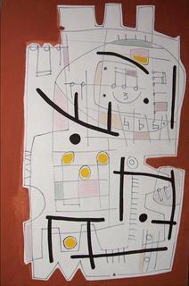 Three Yellow Notes by Horacio Luis Carrena
