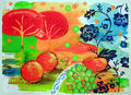 Still Life with Landscape by María Burgaz