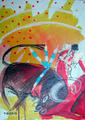 Bulls and Literature IV by María Burgaz