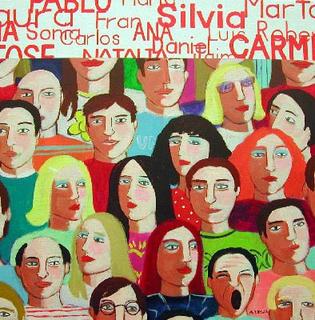Individuos I by María Burgaz