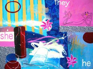 He, She, They by María Burgaz