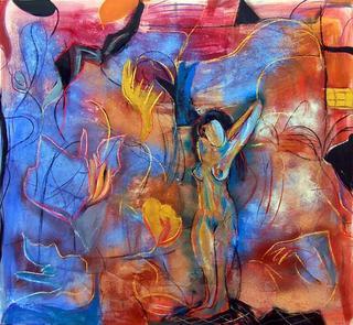 Solitary Woman by Soledad Fernández