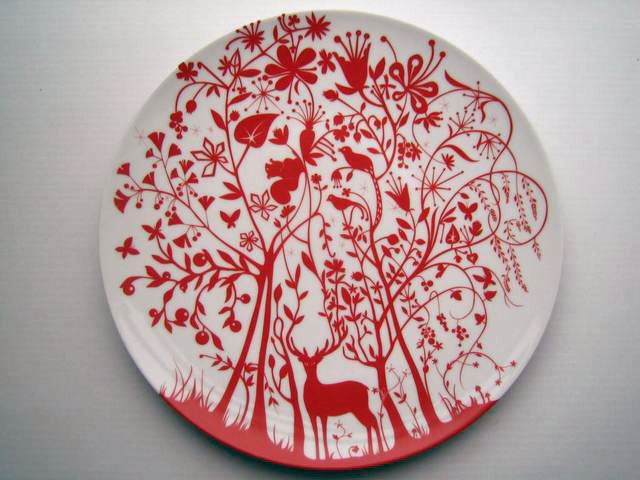 Table stories Dinner plate by Tord Boontje & Table stories: Dinner plate Original Art by Tord Boontje :: PicassoMio