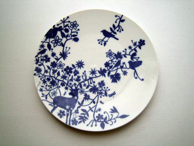 Table Stories Table Plate Original Art By Tord Boontje