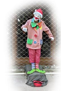 Clown by Jose Luis Mendez Fernandez