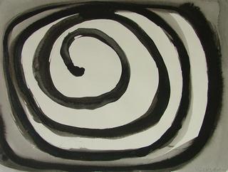 Paper 08: Black Spiral by Javier Lechuga