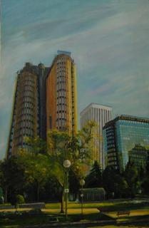 Madrid Towers by Gloria Paniagua