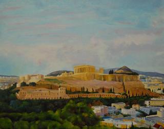The God´s City by Gloria Paniagua