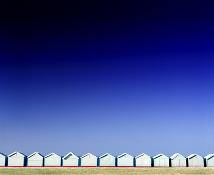 Beach Huts1 by Peter Muller