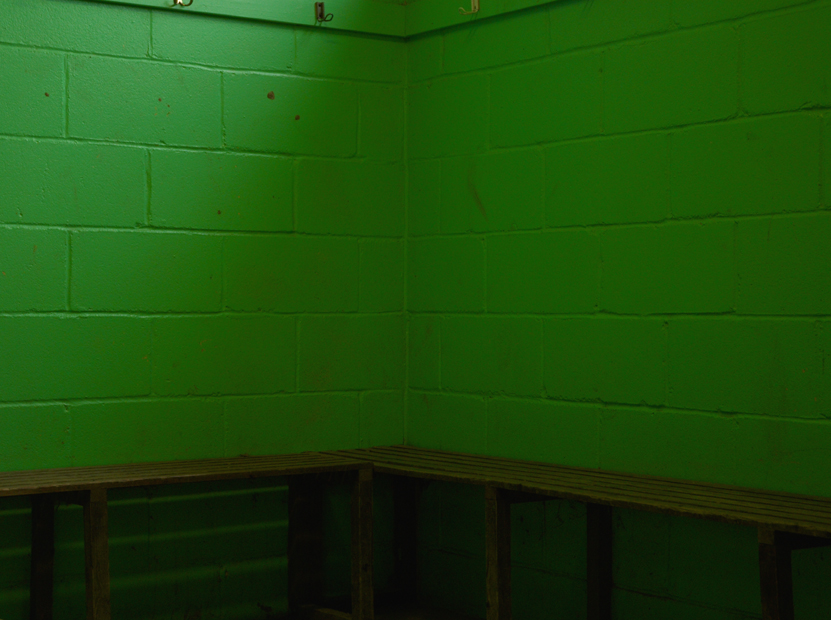 Changing Room Wall by Peter Muller