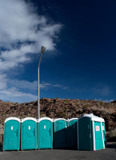 Hoover Portaloo by Peter Muller
