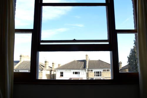 Nicks Window by Peter Muller