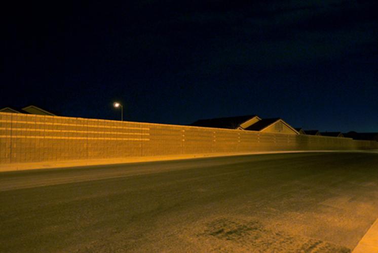 Nrth Vegas Wall by Peter Muller