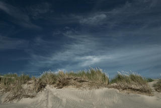 Sand and Skyscape by Peter Muller