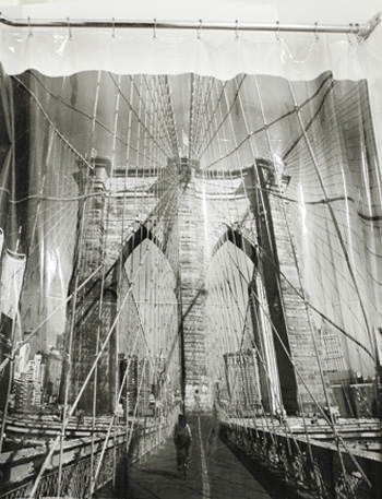 Shower Curtain Brooklyn Bridge By Izola
