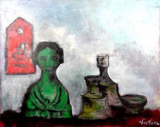 Still Life with Caryatid by Victor Ventura