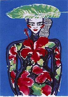Earthly Paradise IV by Elvira Bach