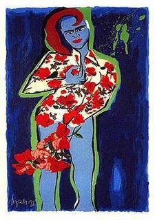 Flower Power II by Elvira Bach